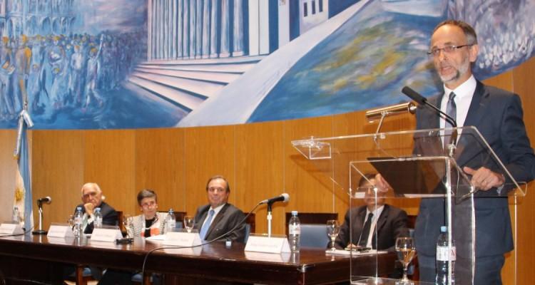 Ricardo Gil Lavedra, Delia Ferreira Rubio, Marcelo Gebhardt, Jorge Fontevecchia y Carlos F. Balbín