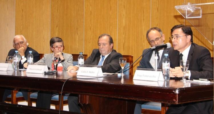 Ricardo Gil Lavedra, Delia Ferreira Rubio, Marcelo Gebhardt, Carlos F. Balbín y Jorge Fontevecchia