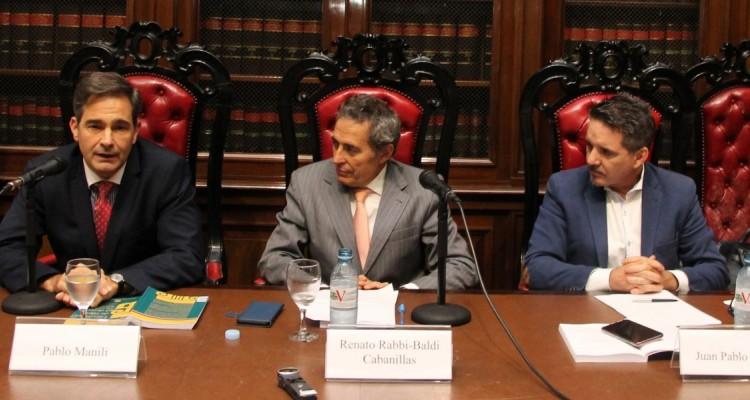 Pablo Manili, Renato Rabbi-Baldi Cabanillas y Juan Pablo Alonso
