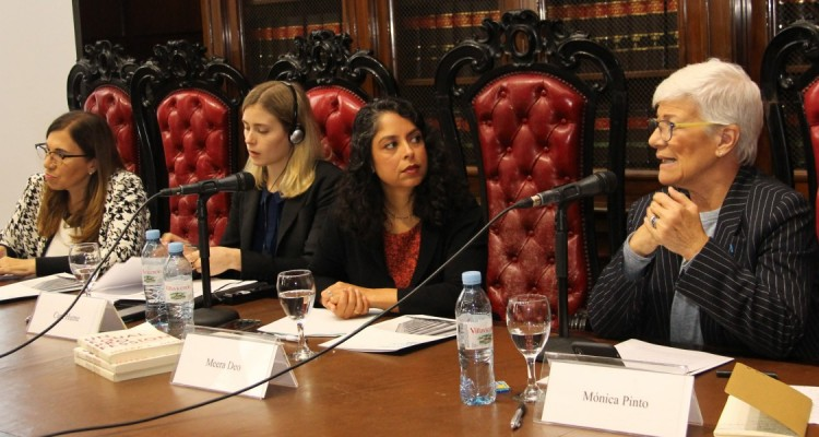 Adela Seguí, Cara Hume, Meera Deo y Mónica Pinto