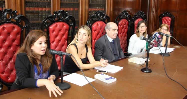 Noelia Cortinas, Paula Mayor, Néstor Solari, Magdalena Diez y Laura Rodríguez