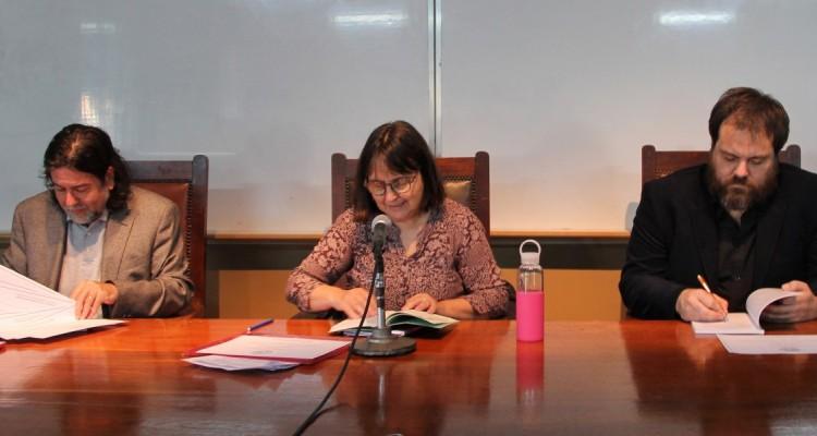 Ricardo Rabinovich-Berkman, Nancy Cardinaux y Jorge Roggero