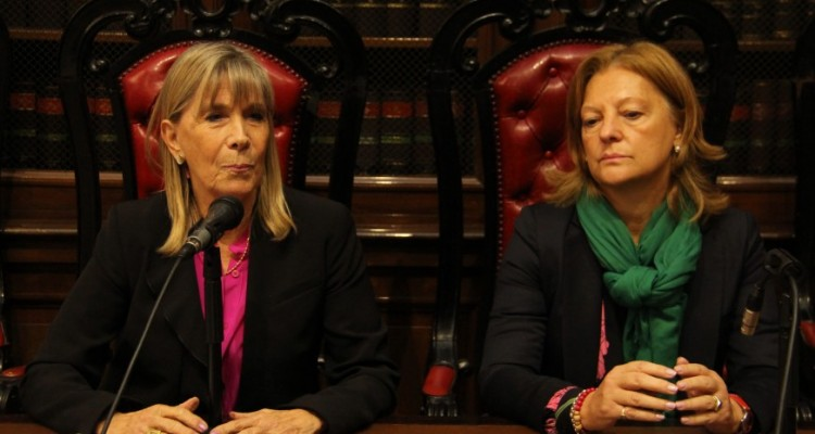 Silvia Nonna y Leila Devia
