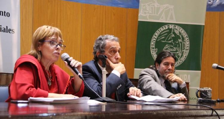 María de las Victorias González Silvano, Claudio Kiper y Ricardo Rabinovich-Berkman