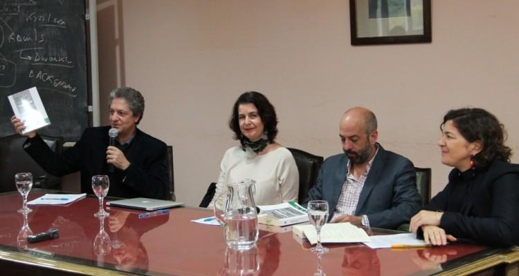 Marcelo Alegre, Verónica Undurraga, Pedro Salazar y Francisca Pou