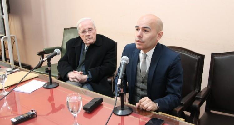 Tulio Ortiz y Sandro Olaza Pallero