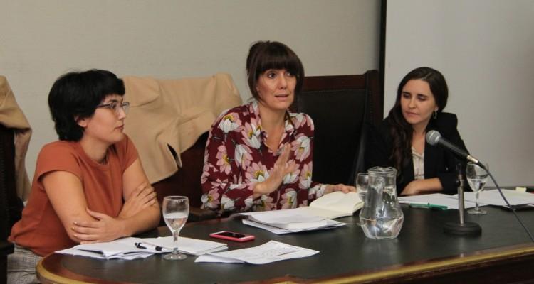 Ana Clara Piechestein, Ileana Arduino y Sofía Lanzilotta