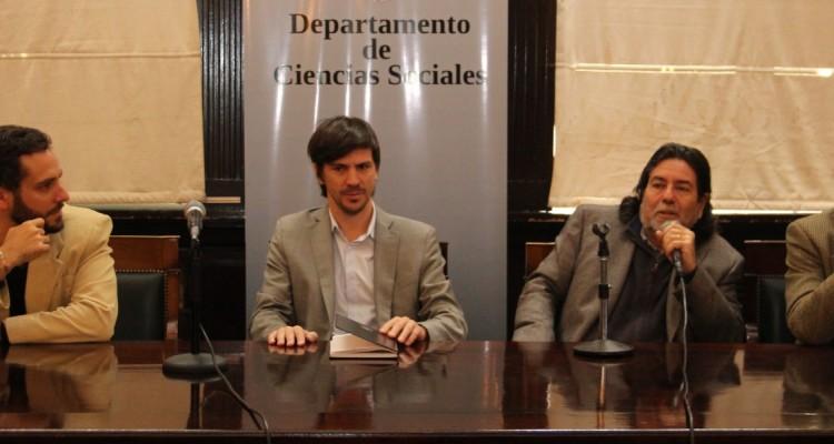 Mauro Benente, Federico Thea, Ricardo Rabinovich-Berkman y Enrique del Percio