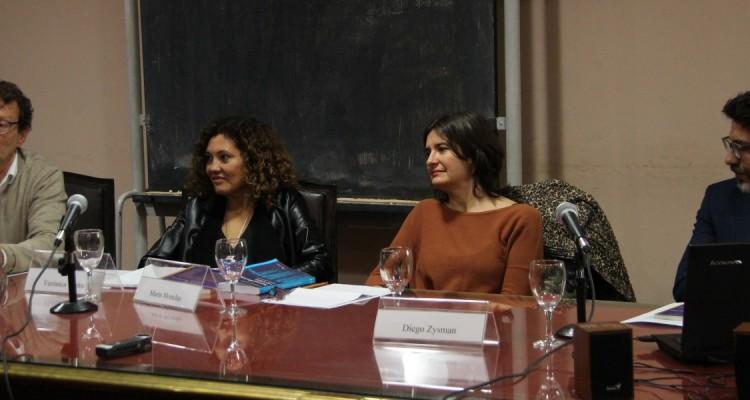 Leonardo Pitlevnik, Verónica Vieito, Marta Monclus y Diego Zysman