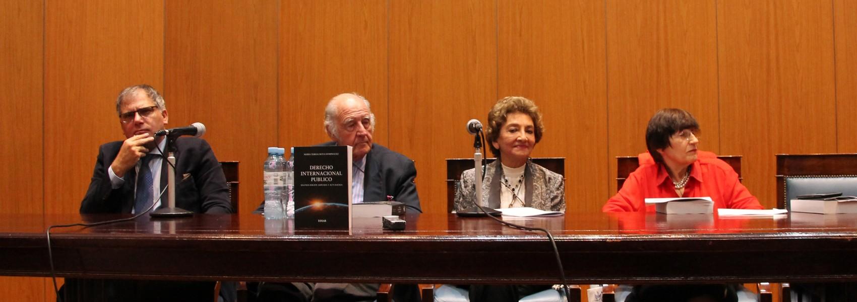 Calogero Pizzolo, Juan Antonio Travieso, María Teresa Moya Domínguez y Lilian del Castillo Laborde