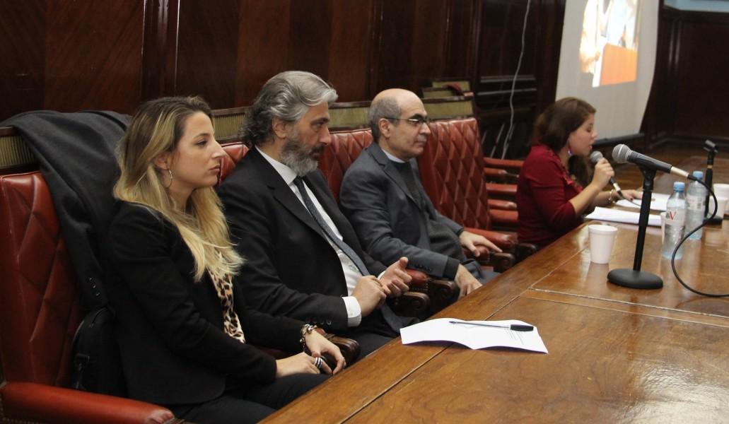 Paula Mayor, Juan Pablo Mas Velez, Néstor E. Solari y Noelia Cortinas