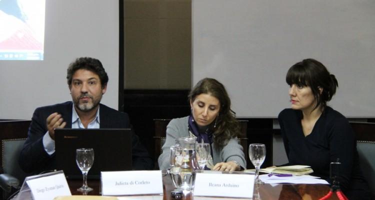 Diego Zysman Quirós, Julieta di Corleto e Ileana Arduino