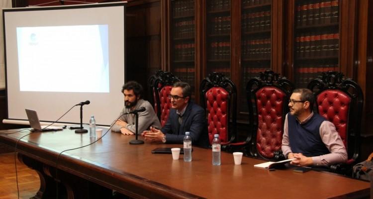 Juan Pablo Montiel, Mateo Bermejo y Marcos Genovese