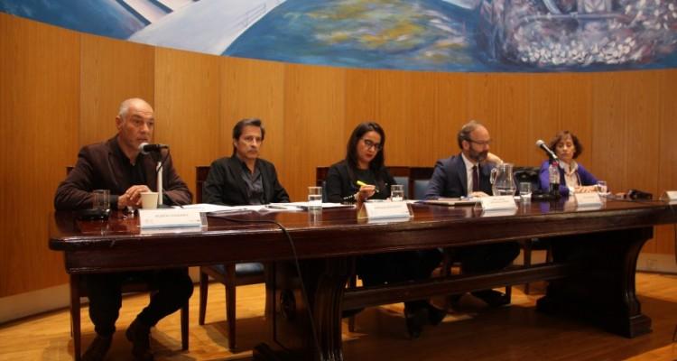 Rubén Chababo, Enrique Peruzzotti, Ana Lorena Delgadillo Pérez, Todd Landman y Patricia Tappatá Valdez