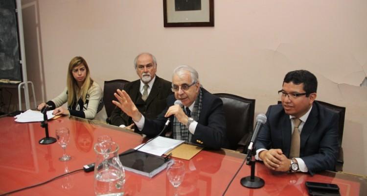 Noelia Ruiz, Marcos M. Córdoba, Federico De Lorenzo y Leysser León