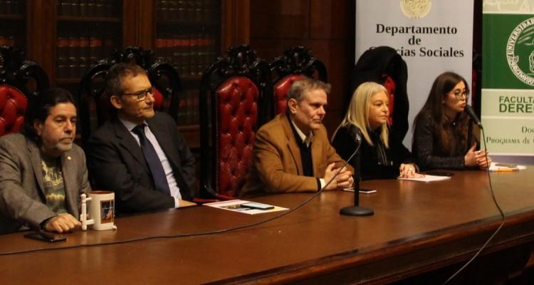 Ricardo Rabinovich-Berkman, Alfonso Celotto, Enrique Del Percio, Noemí Rempel y Andrea Cuellar