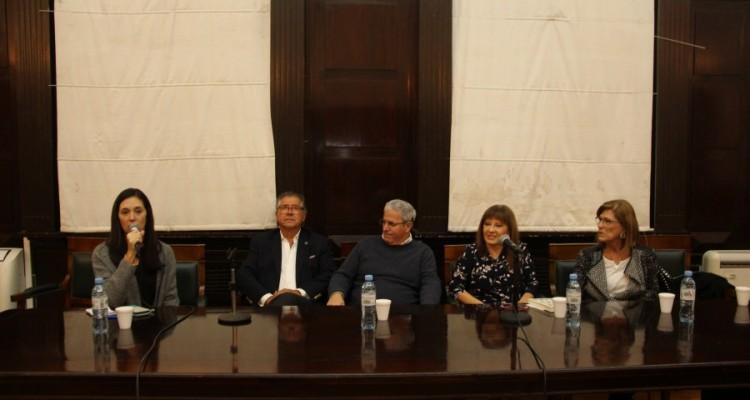 Carolina Crerar, Juan Carlos Couto, Gabriel Garriga, Elizabeth Aimar y Ana Dorfman