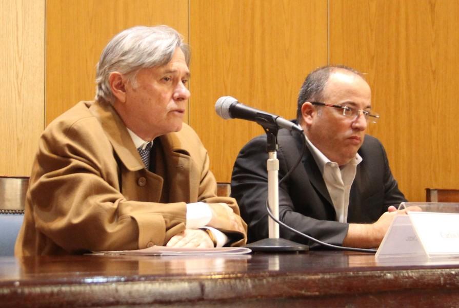 Carlos Clerc y Oscar Zoppi