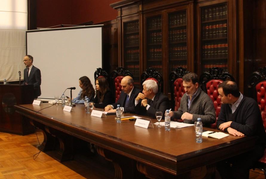 Carlos F. Balbín, Natalia Volosin, Vanesa del Boca, Sergio Rodríguez, Ángel Bruno, Sebastián Pilo y Germán Emanuele