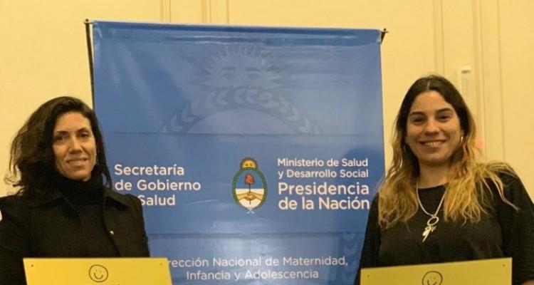 Cristina Carreras Lobo, coordinadora del Área de Igualdad de Género y Diversidad, recibió el reconocimiento.