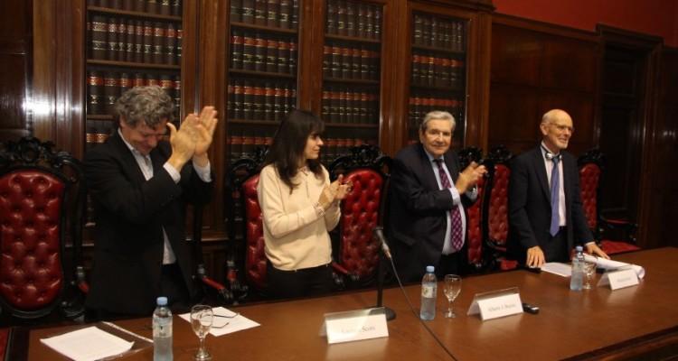 Roberto Gargarella, Luciana Scotti, Alberto J. Bueres y Philip Pettit