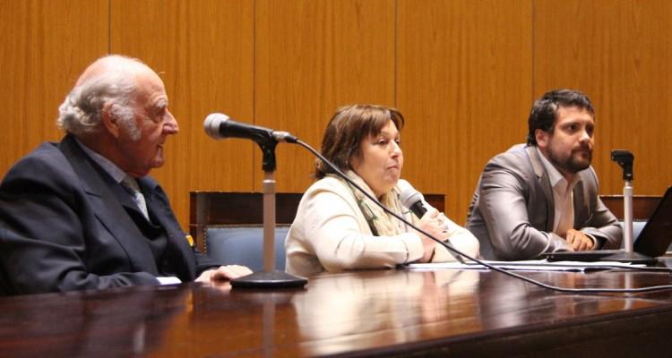 Juan Antonio Travieso, María Graciela Ocaña y Augusto Carzoglio