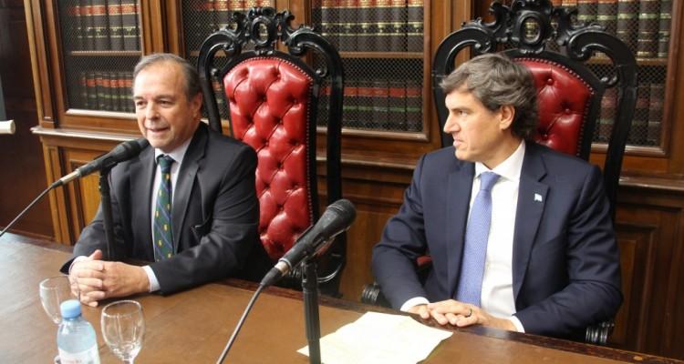 Marcelo Gebhardt y Bernardo Saravia Frías