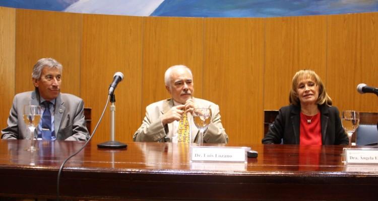 Jorge A. Rojas, Luis Lozano y Angela E. Ledesma