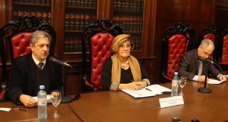 Marcelo Alegre, Esmeralda Arosemena de Troitiño y Patrice Laquerre