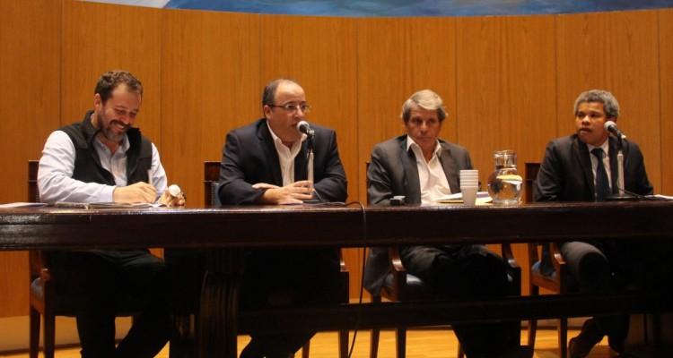 Mariano Gutiérrez, Oscar Zoppi, Gabriel Astarloa y Madoda Ntak