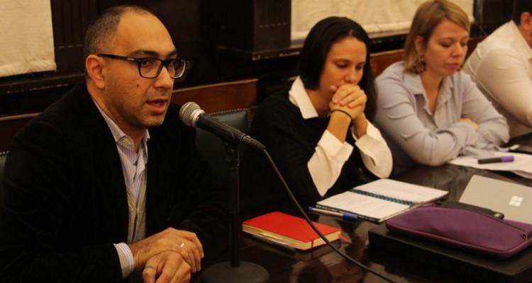 El director del proyecto organizador, Gustavo A. Beade, realizó una presentación de la jornada.