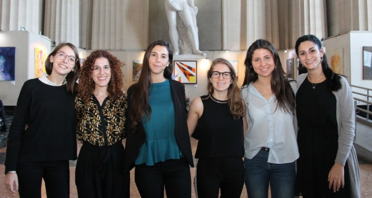 Melisa Szlajen, Melanie Ghertner, Casandra Sol Sans, Nicole Levy, Jennifer Grunberg y Giuliana Morano