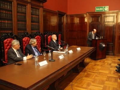 Carlos Clerc, Alberto J. Bueres, Marcos Córdoba y Alessio Zaccaria