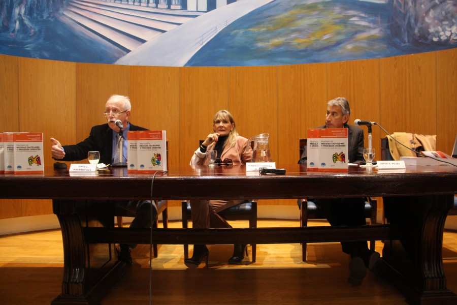 Jorge L. Kielmanovich, Gladis Estigarribia de Midón y Jorge A. Rojas