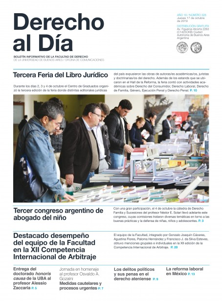Tapa de Derecho al Día - Edición 328