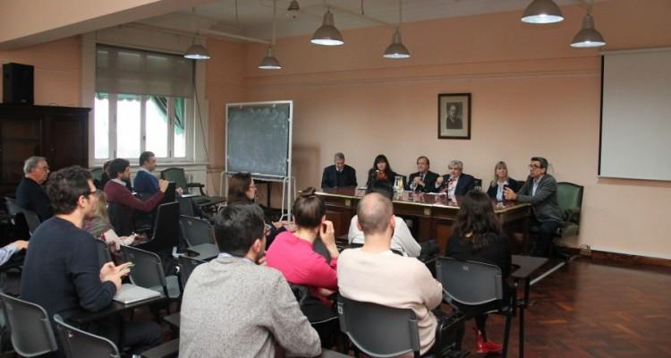 Marcelo Alegre, Luciana Scotti, Marcelo Gebhardt, Alberto J. Bueres, Silvia Nonna y Aníbal Cofone