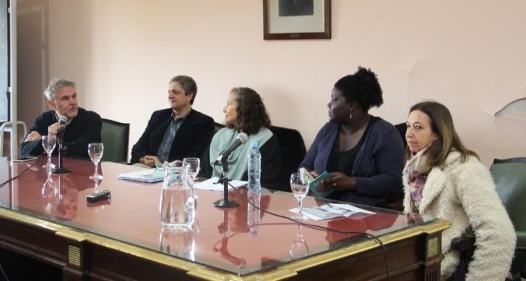 Enrique Del Percio, Marcelo Alegre, Florencia Luna, Annie Occoro y Andrea L. Gastron