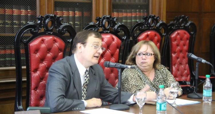 Roberto García Pasquinelli y Beatriz Rodriguez