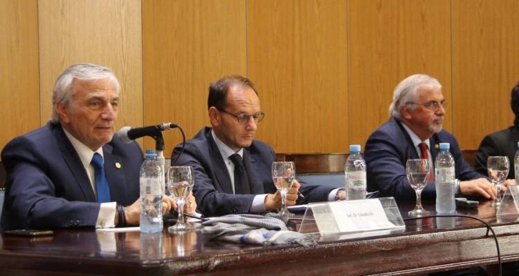 Claudio Zin, Giuseppe Manzo y Gabriel Capitelli