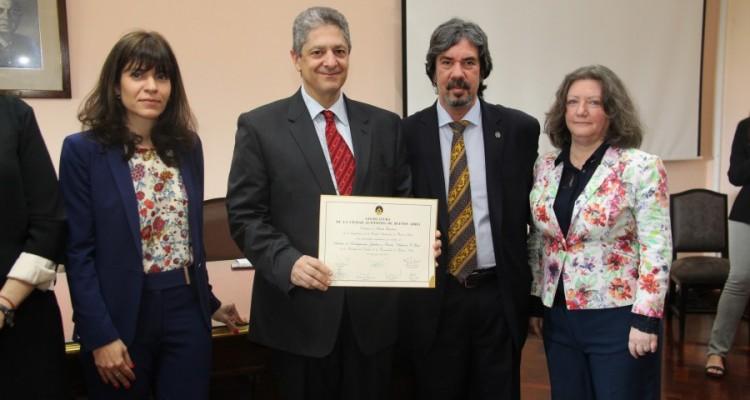 Luciana Scotti, Marcelo Alegre, Daniel Rodriguez Masdeu y María Gracia Nenci