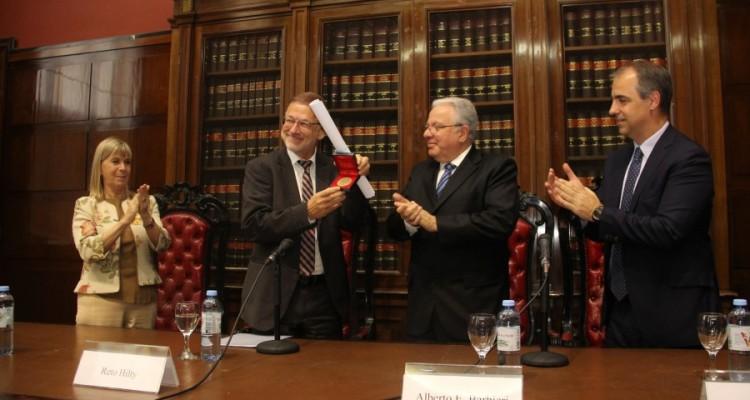 Silvia Nonna, Reto Hilty, Alberto E. Barbieri y Mariano Genovesi