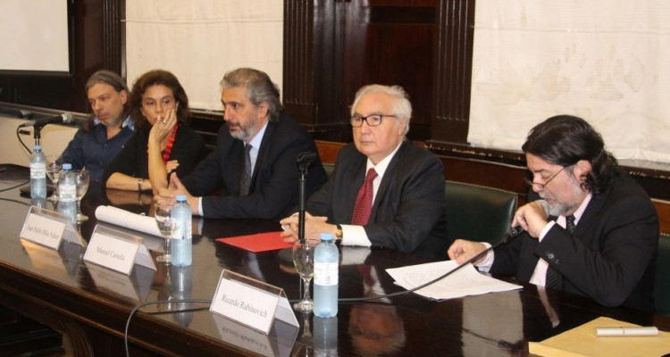 Daniel Ricci, Catalina Nosiglia, Juan Pablo Mas Velez, Manuel Castells y Ricardo Rabinovich-Berkman
