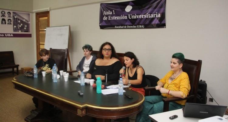 Ailen Nehuen Sueiro Franco, Oliver Stratas, Lara Bertolini, Paola Colombrero y René Sauan