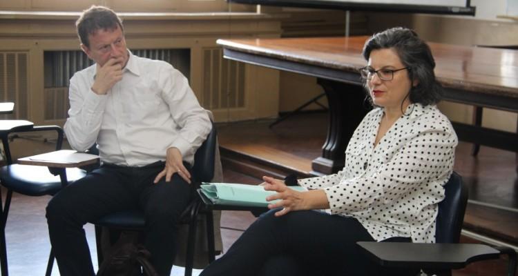 Leonardo Pitlevnik y Vilma Bisceglia