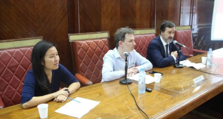 Abigail Moy, Sebastián Pilo y Daniel Pastor