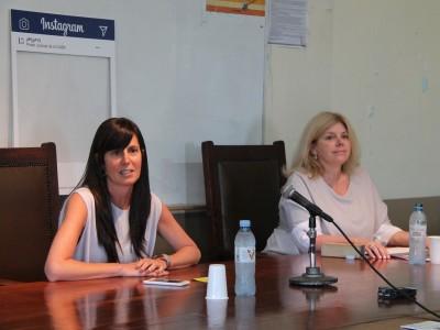 María Lorena Tula del Moral y Mariana Bozetti