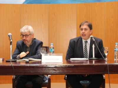 Enrique Bullit Goñi, Horacio G. Corti, Eduardo Laguzzi y Daniel Barbato