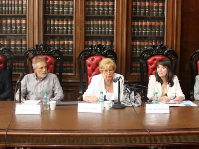 Alejandro J. Muñiz, Miguel Cane, Graciela Güidi, María Teresa Van Strate y María Teresa Ithurburu