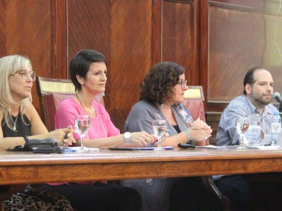 Karina Verónica Arcuschin, Silvia Bianco, María Jimena Monsalve y Gabriel Fava