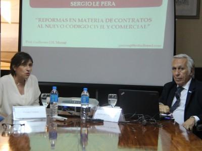 Vivian Crousse y Guillermo J. H. Mizraji